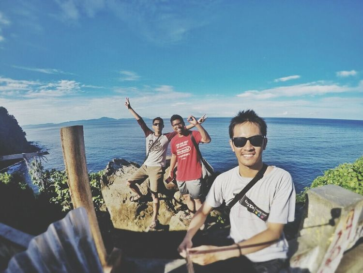 Yey you nailed it guys. Congrats BandaAceh Kilometer0 Sea And Sky Friends Traveling INDONESIA Sumatera Sabangisland