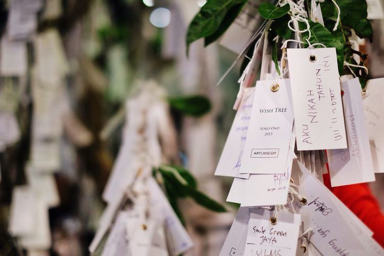 The Moment - 2015 EyeEm Awards Art Wish Tree Yoko Ono