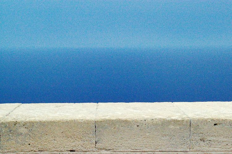 Texture Horizon Over Water Horizon Sea And Sky Seaside Sea View Blue White Stone Holiday Beautiful Greece Nature The Essence Of Summer On The Way The Essence Of Summer- 2016 EyeEm Awards