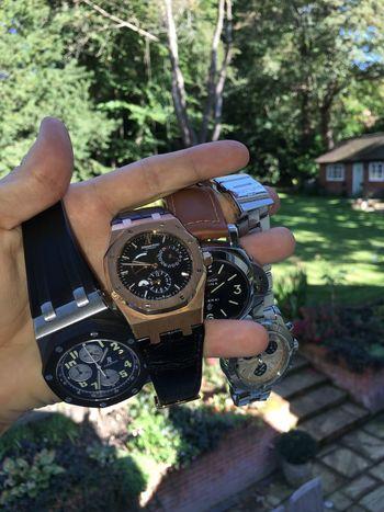 Watch Watches Audemars Piguet Panerai Breitling Wristwatch Surrey