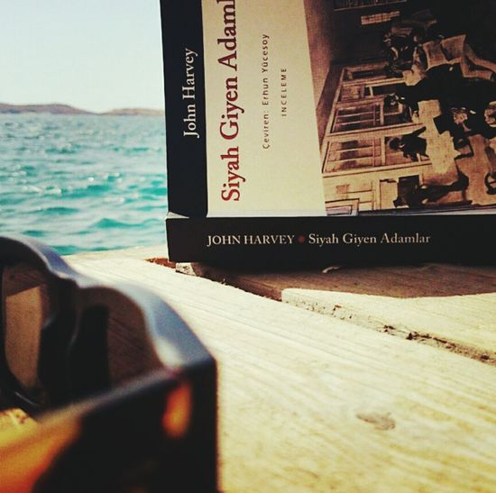 Eski Foça Last Summer Men In Black Reading A Book Sunbathing Sun Glasses Man Style Books ♥ Holiday Sunshine