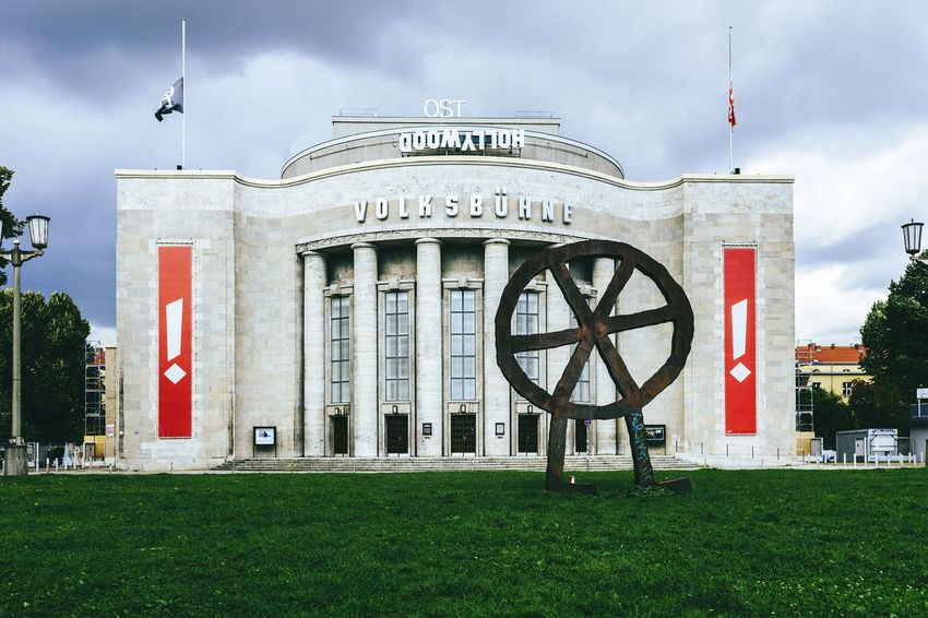 Theater building Volksbühne Building Architecture_collection Architecture Germany Berlin Berlinstagram Berlinmitte Volksbühne Streetphotography Street