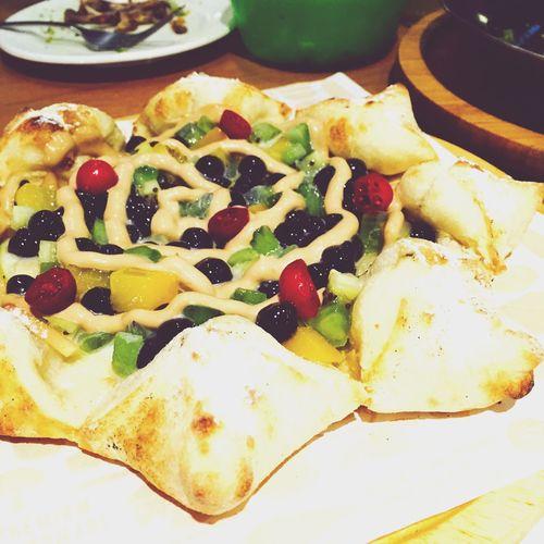 Pearl Milk Tea Pizza Time Taipei,Taiwan Tinospizza
