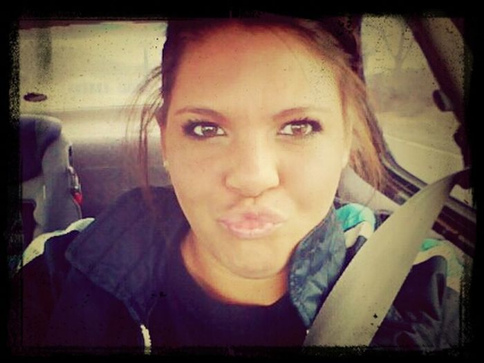 Stupidest Picture Ever But I Love It! Bahahahah #ultimateduckface :p