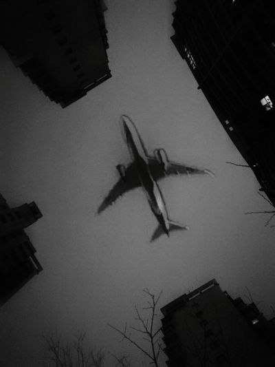 Mobility In Mega Cities Military Low Angle View Silhouette No People Shadow Sky Outdoors Night Flying Air Vehicle War Airplane Water Air Force