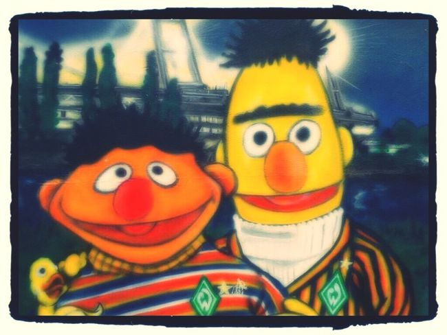 SV Werder Bremen Werder Graffiti Colors Colours Comic Sesamestreet Sesame Street Sesamstrasse