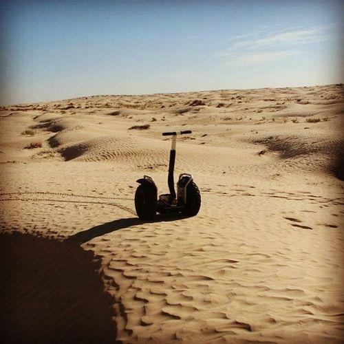 Segway Desert Sahara Tunisia tozeur