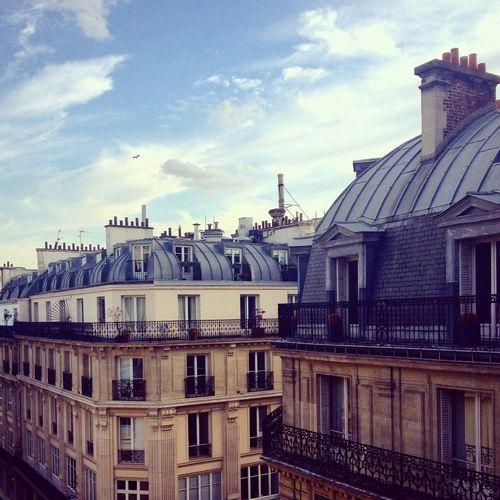 Paris Parisian Life Roofs Of Paris