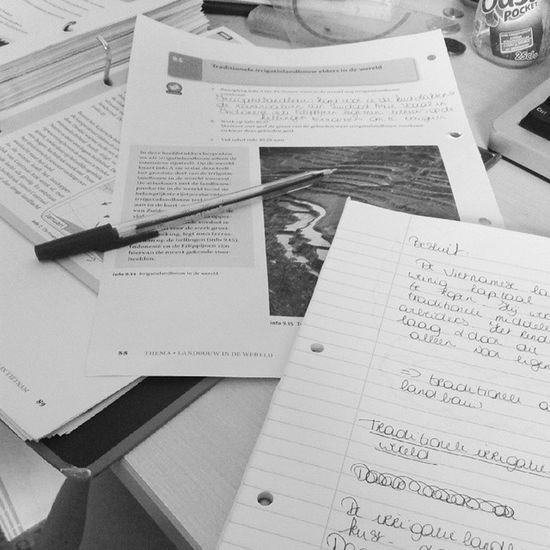 Altijd leuk studeren... Not Examens  Mögen De pot op Almost summer geografy