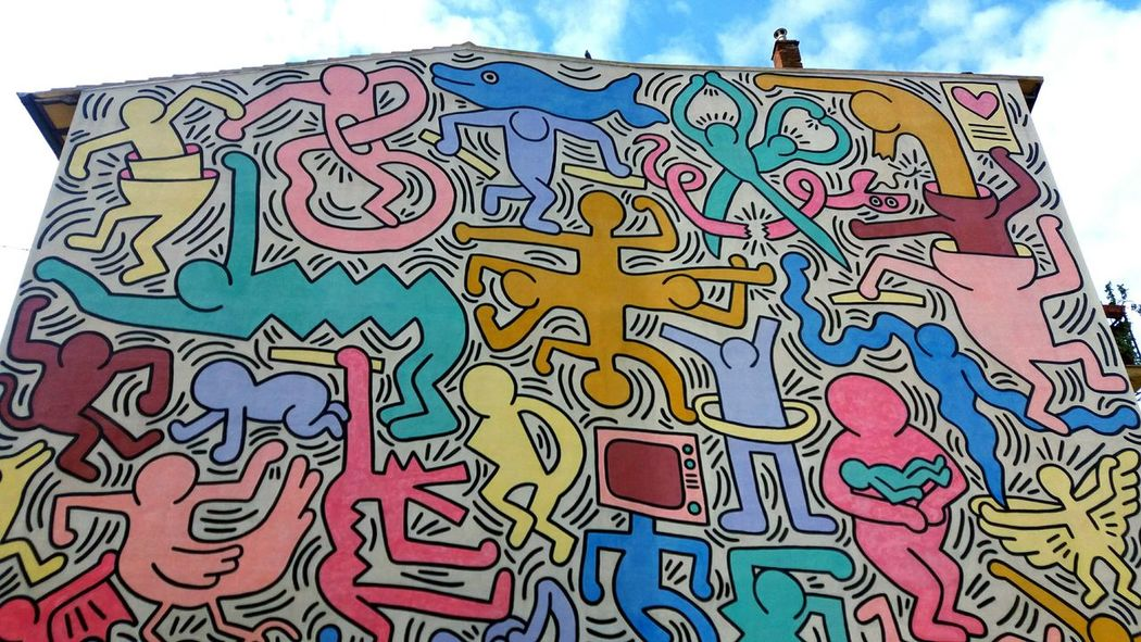 TuttoMondo! Murale Murales Holiday Traveling Travel Holiday POV Painting Colorsplash Colors Sky And Clouds
