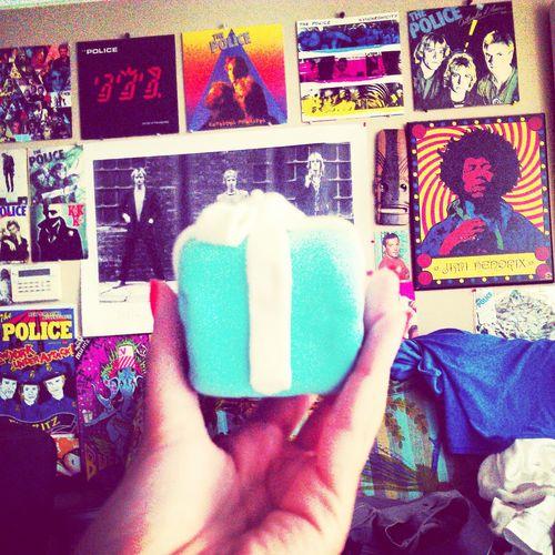 tiffany's box cupcake! Desserts Art Tiffany&Co. Check This Out tiffan