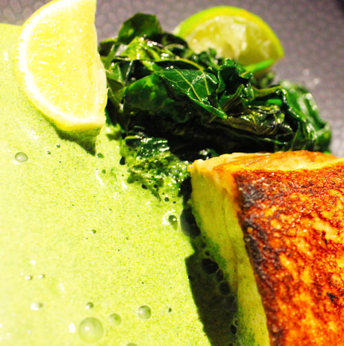 Spinach Fish