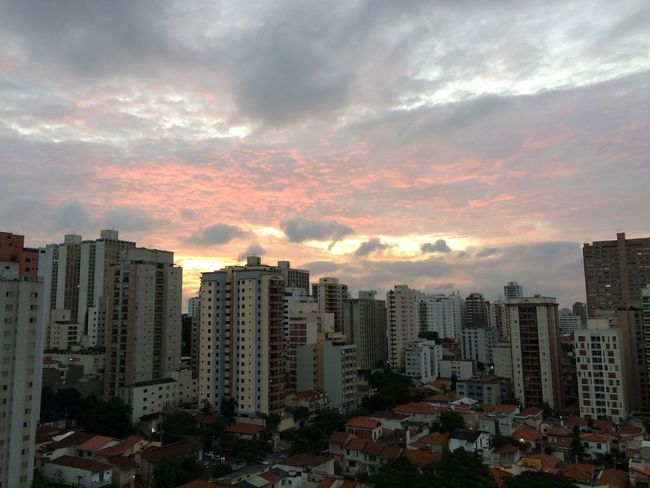 SAO PAULO BRAZIL Architecture Building Exterior Built Structure City Cityscape Cloud - Sky Day Modern No People Outdoors Sky Skyscraper Sunset Tall Travel Destinations Urban Skyline