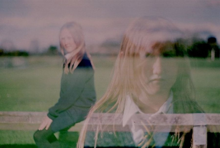 Double Exposure Film 35mm Film Girlhood Childhood School Life