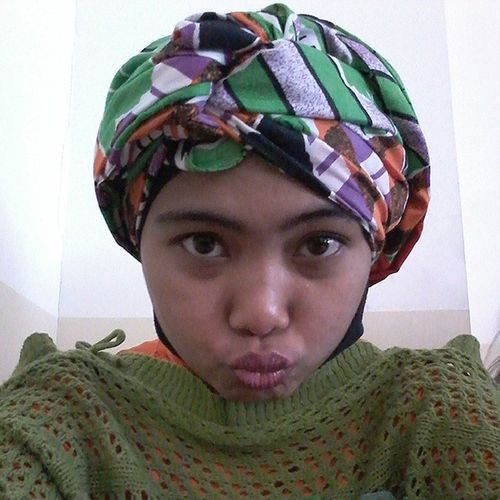Hijabturbanstyle Whoopwhoopwhoop Insta_hijab Inagram instadaily inainsta instadroid green orange hijabers instadroidnesia instapict