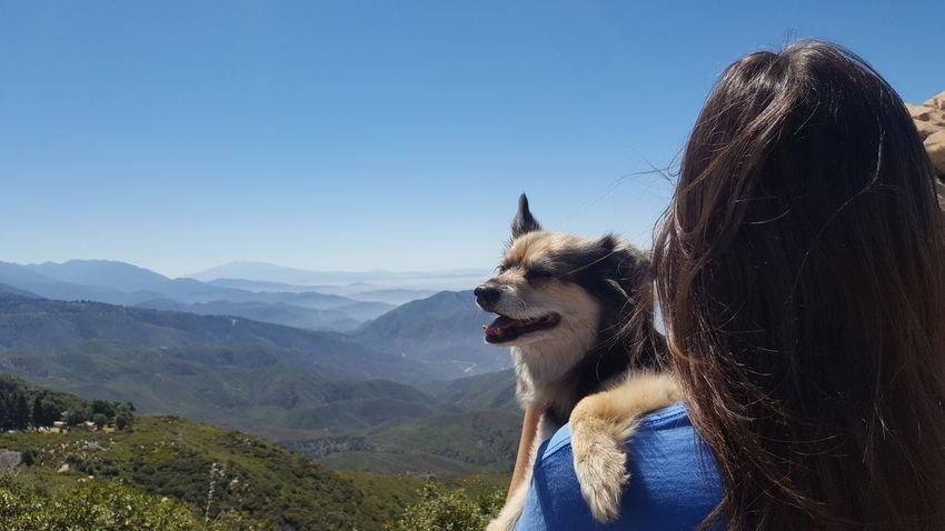 Beauty In Nature Best Friend Lifestyles Love ♥ Mountain Mountain Range Portrait Sky