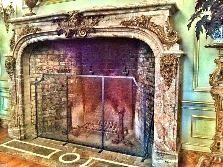 Filoli Garden, fireplace Filoli Vintage