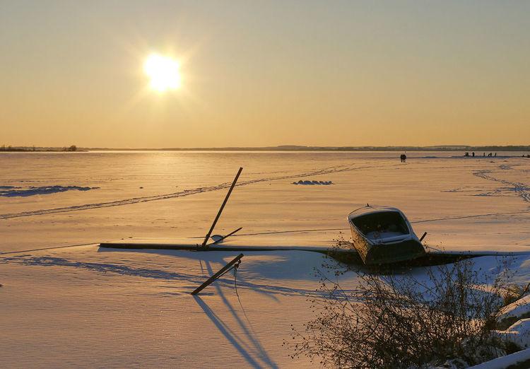 The Great Outdoors - 2017 EyeEm Awards Rostov Nero Lake Snow Sunset Russia