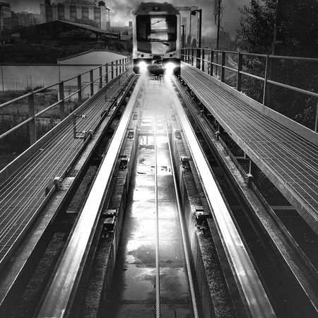 Look in the mirror | taken with iPhone 5S | edited with Snapseed//Filterstorm neue apps Youmobile Notes From The Underground Blackandwhite AMPt_community
