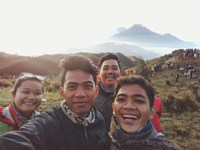 Puncak Gn.Prau Explorejawatengah Enjoying Life Smiling Happy Time Indonesia Wonderfull