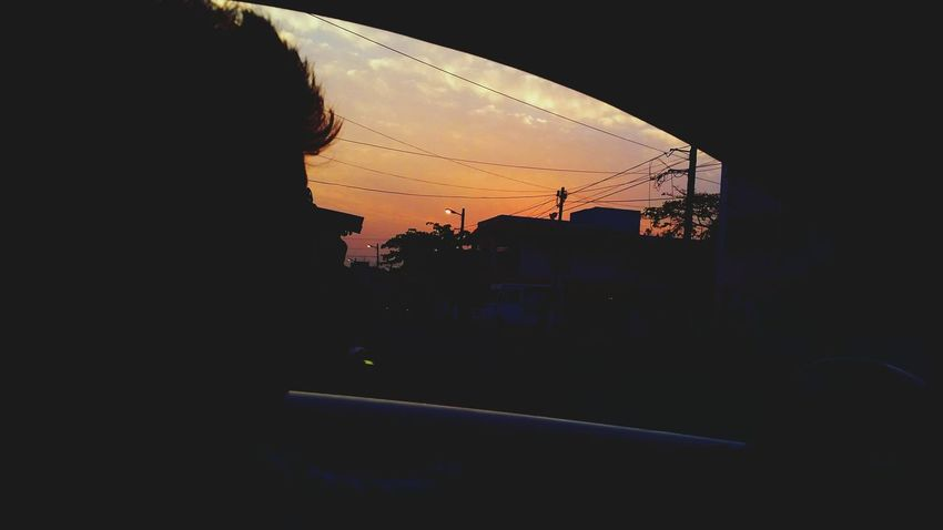 Copete style BackTime Afternoon Orange Atardecer Mexico Shadow Car Urban