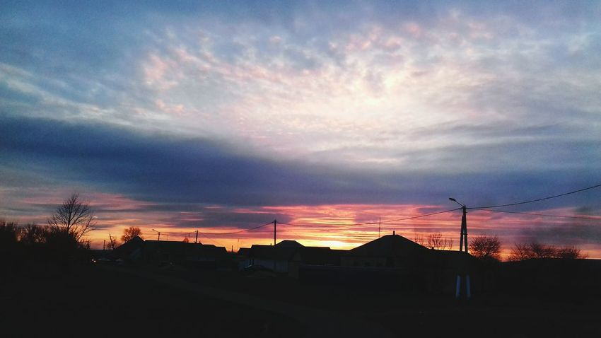Sunset Dramatic Sky Cloud - Sky Sky Outdoors Extreme Weather No People Night Beauty In Nature Nature