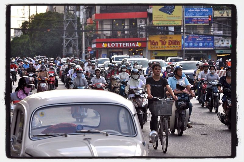 walking in Ho Chi Minh City On Every Street On The Road Streetphotography Eye4photography  The Human Condition Battle Of The Cities CyclingUnites Connected By Travel