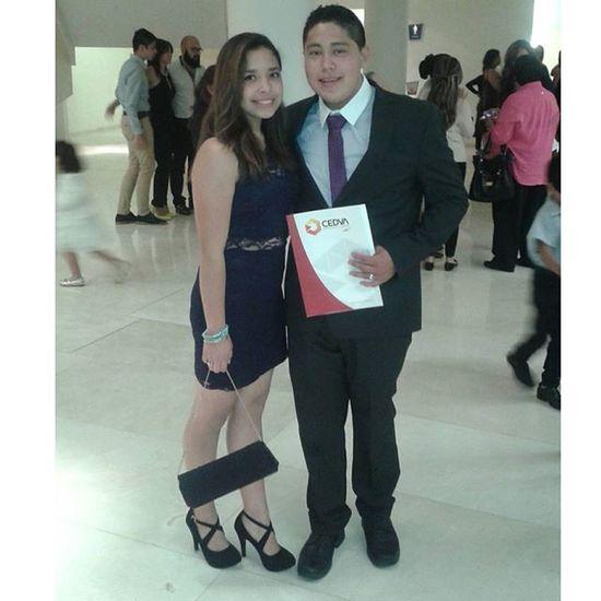 Felicidades bro ❤ te amo, estoy muy orgullosa de ti:') Graduacion Cedva Brother Picoftheday Hoy Aplicaba Vestidoytacones Teamo 😘😊♡👌