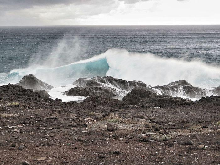 Canarias Canarie Island Gran Canaria Ocean View Sea Storm Atlantic Ocean Sea Wave Ocean Waves Beach Waves Canary Islands Gran Canary Island Sea And Wind Wildlife & Nature Nature Ocean Canarie