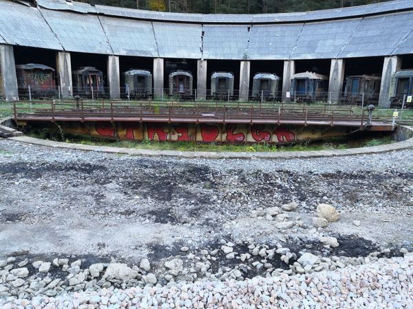 Railway Station Canfranc Canfranc Estacion Flower Roof Architecture Built Structure Building Exterior