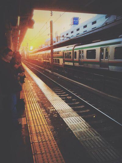 Subway Evening