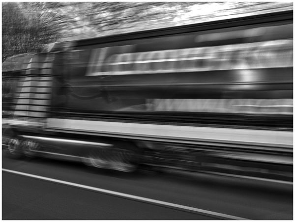 on the road Black & White Blurred Motion Car Driving Driving Fast Fast Motion Highway Light And Shadow Motion On The Move On The Road Reflection Road Need For Speed