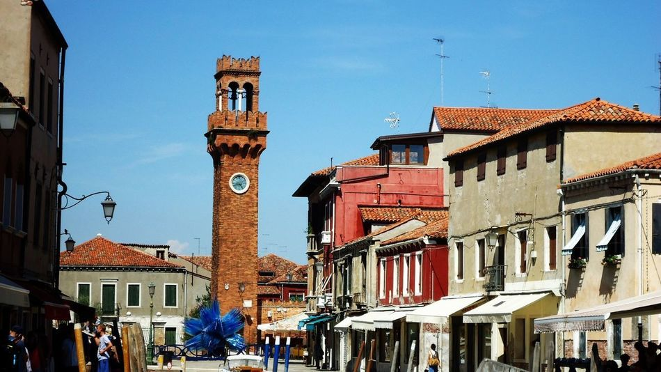 Be. Ready. Travel Destinations Clock Tower Clock Blue Outdoors Architecture Sky Building Exterior Day City Clear Sky Buildings Beautiful Relaxing