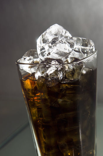 Close-up of alcohol cocktail