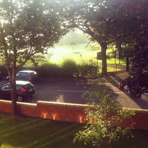 630am Morningmeds Ivtreatment Viewfromtheflat summertime sunshine cysticfibrosis herecomesthesun