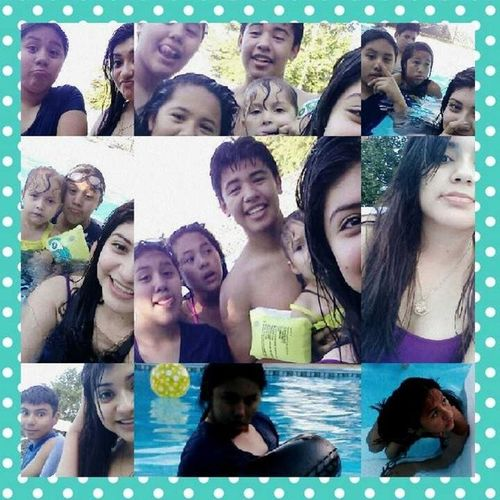 Today swimming with the cuzzos had fun! @_wendy_molina @jfim_ ???Ratchetfaces Selfiegametostrong Swimmingistiring Stillfun dt