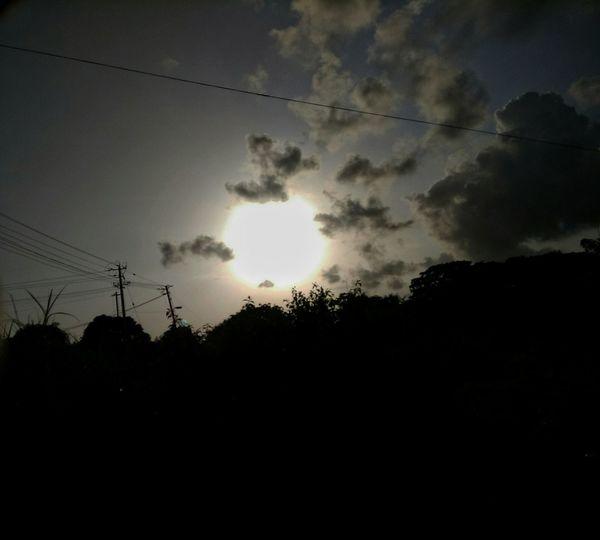 Dark Sky Bright Sun Redminote4photography Anchanphotography