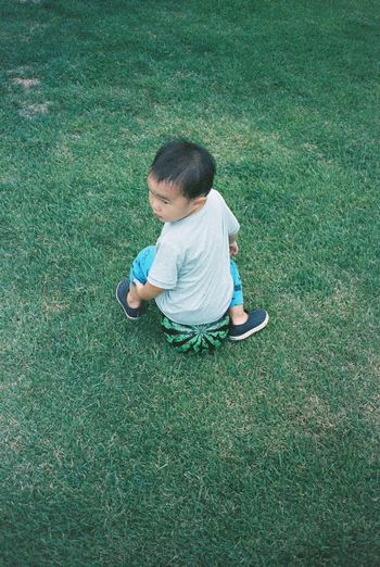 My nephew 35mm Film Film Kodak Portra Contax T3 Enjoying Life Filmisnotdead Film Photography Kidsphotography Everyday Lives