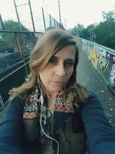 selfi on the bridge Casual Clothing Street Art The Street Photographer - 2018 EyeEm Awards The Portraitist - 2018 EyeEm Awards Graffiti Aerosol Can #urbanana: The Urban Playground