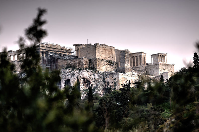 Parthenon, entrance. Athens, Greece GREECE ♥♥ Parthenon Acropolis Ancient Ancient Civilization Architecture Athens Building Exterior Built Structure Day Greece History Nature No People Old Ruin Outdoors Sky Tree