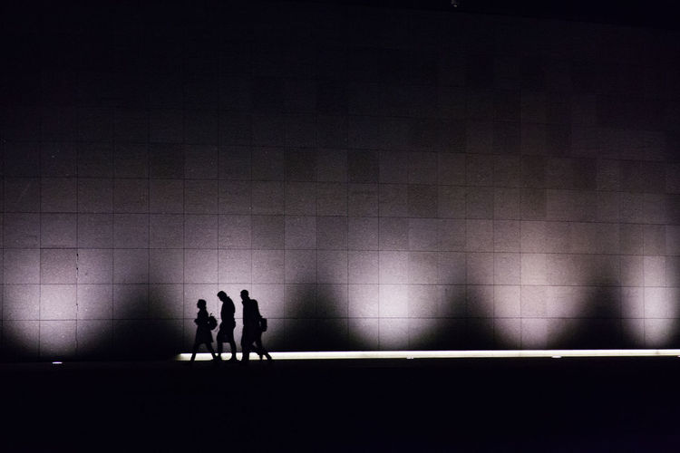 Amsterdam City Life Creative Light and Shadow Family Lightlines Nightphotography Nightshadow People Shadows Silouette Streetphotography Walking Walking Around The City  The Traveler - 2018 EyeEm Awards The Great Outdoors - 2018 EyeEm Awards HUAWEI Photo Award: After Dark #urbanana: The Urban Playground