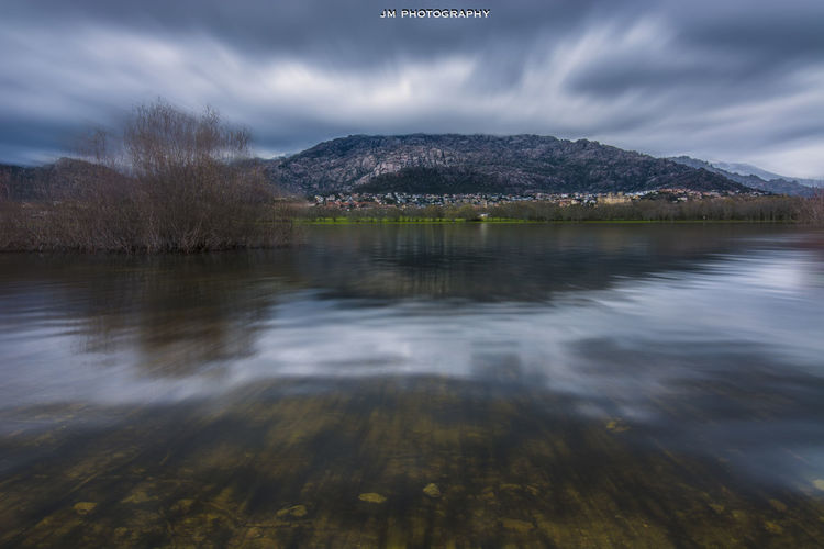 Blue Blur Sky Blurred Motion Castle Cloud - Sky Clouds And Sky Cold Darkness Horizon Over Water Landscape Long Exposure Nature ND Filter Relaxing River SPAIN Stones Texture Water Winter First Eyeem Photo
