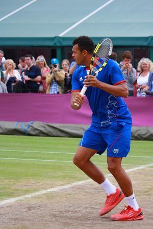 Jo-Wilfried Tsonga London2012 Olympics Wimbledon Tsonga Tennis 🎾 Group Of People Playing Real People Crowd Sport Full Length Competition Men Leisure Activity