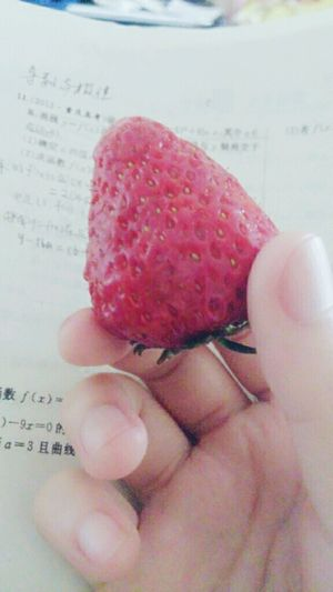 Eat Strawberry Yummy♡