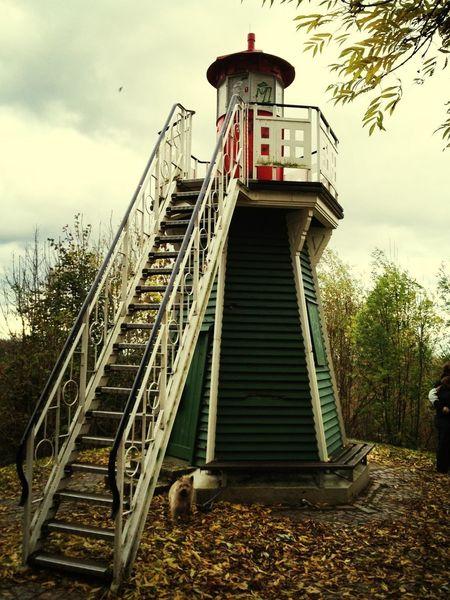 Lighthouse Escaping the City Walking Around Hamburger Ecken