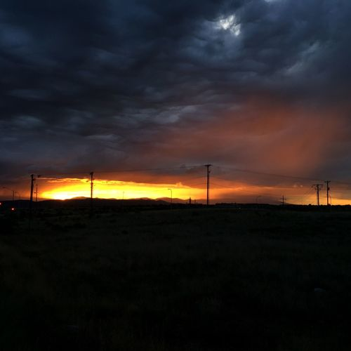 Nature On Your Doorstep Sunset Newmexico Painted Sky