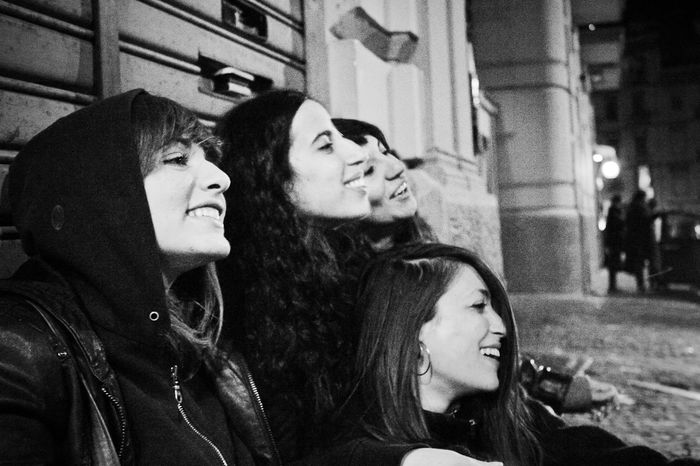 Bande de Filles Black & White Friends Gender Girls Night Out Naples Napoli Youth Youth Of Today Black And White Blackandwhite Blackandwhite Photography Engendered Friendship Girls Happiness Lifestyles Real People Smile Smiling Street Streetphotography Togetherness Young Adult Young Woman Young Women Be. Ready. Press For Progress Human Connection
