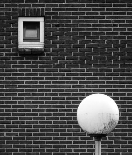 Of circles and squares Window Brick Wall Wall Pattern texture Texture And Surfaces
