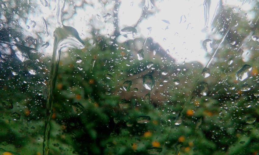 Feel The Journey Travel To Chintpurni Himachal Its Raining Day Raindrops On My Window First Eyeem Photo