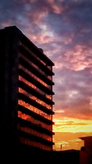 Sunrise_sunsets_aroundworld Sunrise_Collection Sunrise Costa Rica❤ Costa Rica 🇨🇷 San Jose, Costa Rica Sky Cloud - Sky Architecture Low Angle View Building Exterior